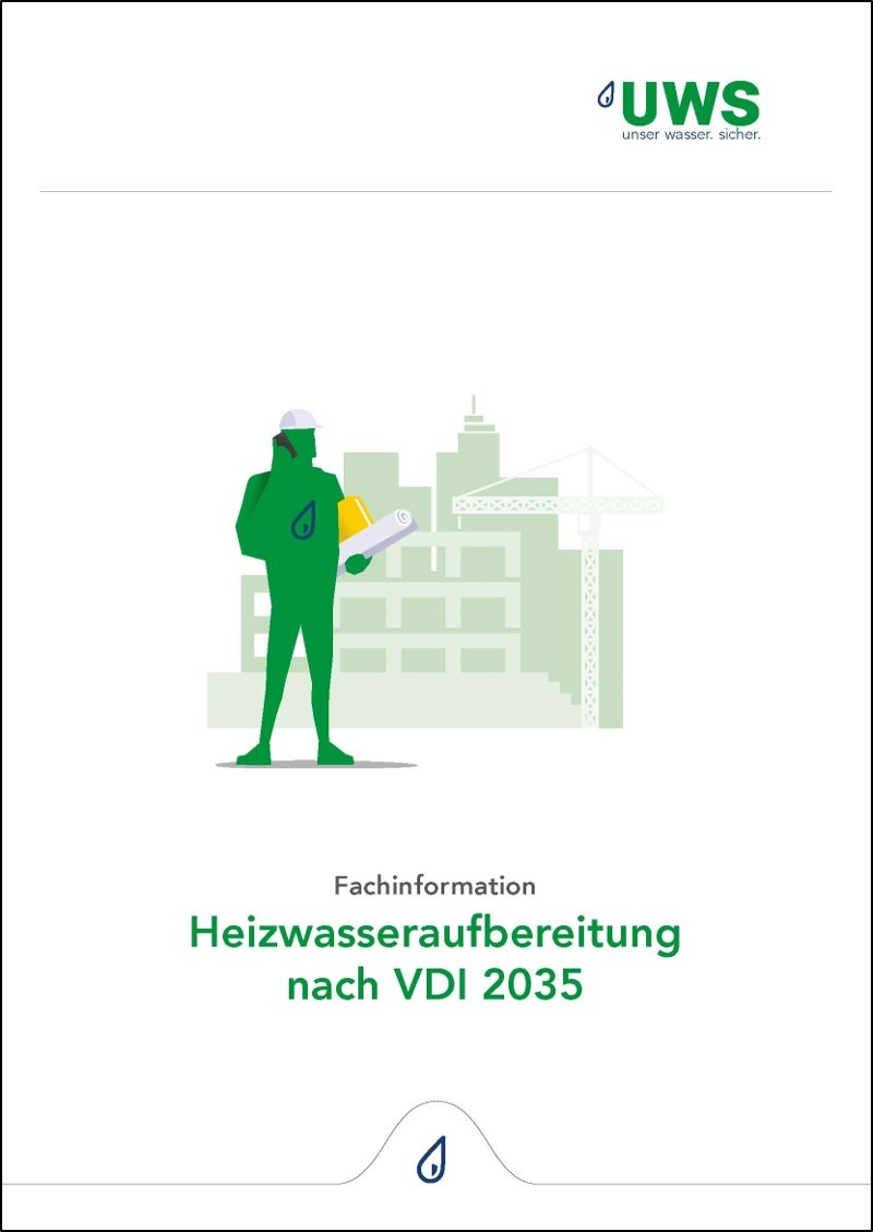 Fachinformation Heizwasseraufbereitung VDI2035