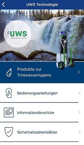 Jetzt neu in der UWS-App