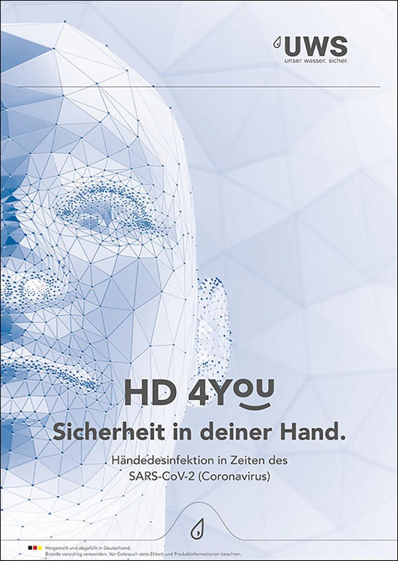 HD 4YOU Händedesinfektion