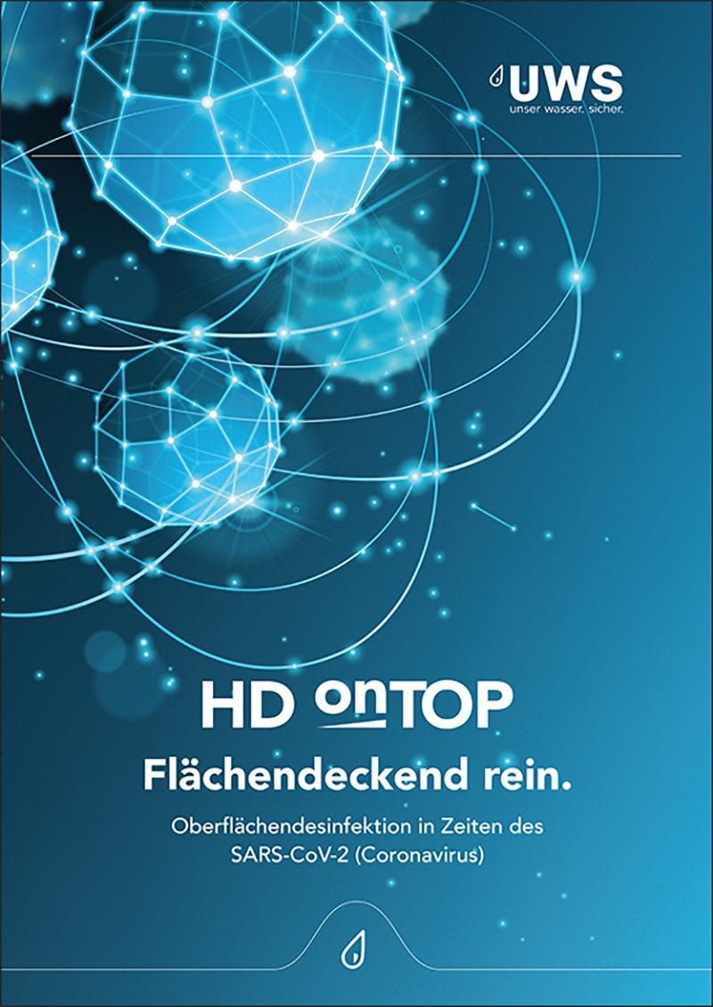 HD onTOP Oberflächendesinfektion