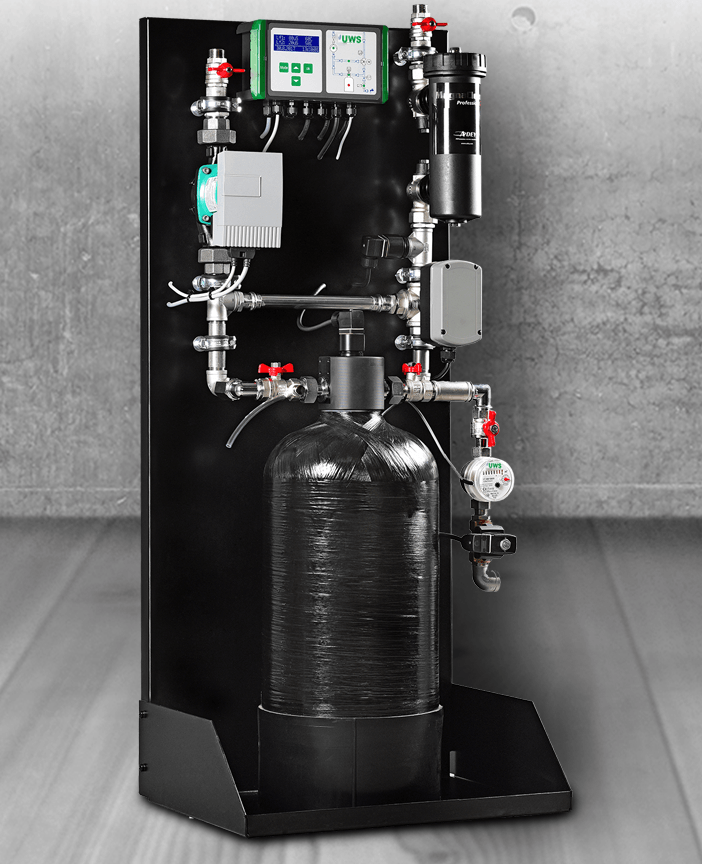 UWS Heaty Racun-automatische Heizwasseraufbereitung