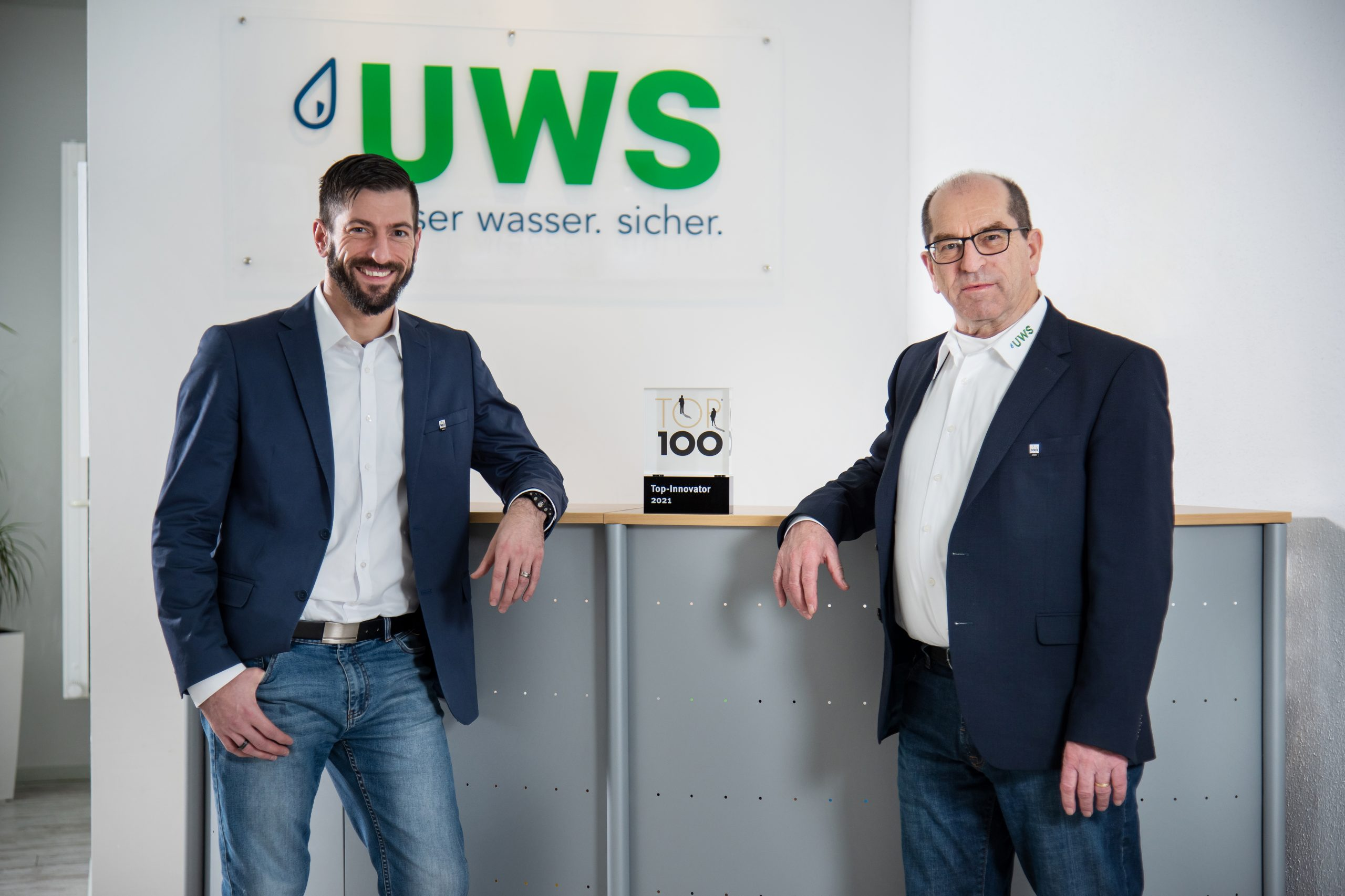 UWS Technologie is one of the 100 most innovative companies in Germany